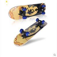 潮流炫酷图案滑板车耐磨耐用公路成人儿童枫木滑板车四轮滑板双翘板