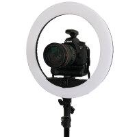 摄力派LED环形摄影补光灯专用单反相机支架 单反支架摄影器材配件