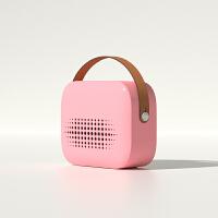 诗杭 暖风机小太阳电暖器家用节能省电办公室用小型迷你电暖风取暖电器 粉色