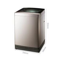 TCL XQM85-9005S 8.5公斤全钢面板波轮免污洗全自动波轮洗衣机 皓月银