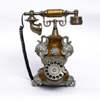 仿古电话机 老式古董复古转盘电话机 座机 家用办公礼品165S
