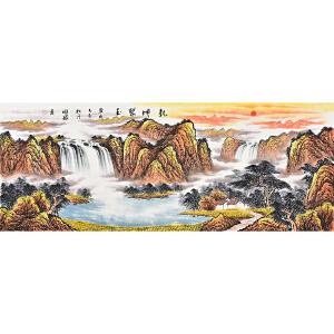 中国书法美术家协会理事  周国耀乾坤聚玉gs01545