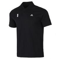 Adidas阿迪�_斯男�b�\�臃�透�庑蓍e短袖上衣T恤FT2757