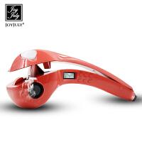 韩国JOYJULY喷雾自动卷发器卷发棒不伤发陶瓷大卷小卷液晶显示电动控温梨花烫发器美发器-红色