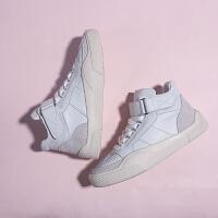 嘻哈女鞋子冬季百搭休闲小白鞋女鞋板