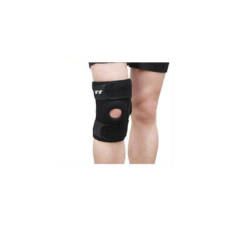 户外跑步训练护膝弹簧支撑加压透气跑步运动护膝盖羽毛球篮球登山护膝 品质保证,支持货到付款 ,售后无忧