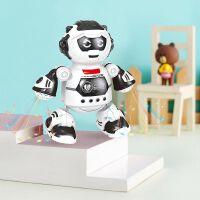 抖音火爆一键智能自动音乐声光会跳舞机器人 早教玩具音乐启蒙