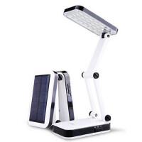 久量LED充电式太阳能学生宿舍台灯阅读灯学习灯