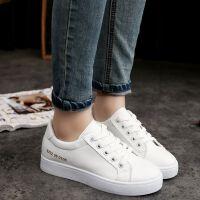 春秋新款鞋子女学生韩版小白鞋女百搭运动鞋帆布鞋平底板鞋休闲鞋
