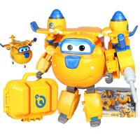 奥迪双钻超级飞侠玩具乐迪变形机器人多多小爱 豪华版机器人多多