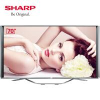 夏普(SHARP)LCD-70SX970A 70英寸8K(4K*2)超高清智能网络液晶平板电视机高端彩电 65 75