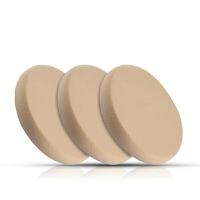 3个装BB霜粉扑粉底CC霜化妆棉圆形遮瑕干湿两用化妆工具 3