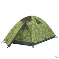 户外装备登山露营防风防雨防晒三季铝杆双层帐篷 三人