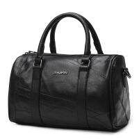 皮商务旅行包男士手提包男包行李包大容量出差旅游大包 出差旅行 YC