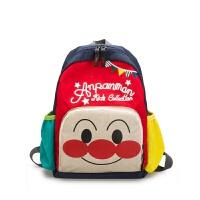 儿童书包幼儿园---岁宝宝可爱卡通面包超人男童女孩双肩背包