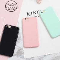 iphone6s手机壳苹果7plus糖果色硅胶4s5s5c纯色软保护Xs日韩女max