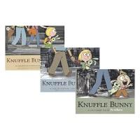 Knuffle Bunny 古纳什小兔三步曲 凯迪克银奖3册 鸽子小猪小象作者 Mo Willems 温情父爱 成长与陪