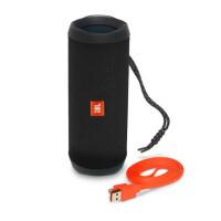JBL Flip4便携蓝牙音箱无线小音响重低音HIFI 防水户外无线音箱 黑