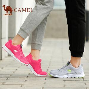 骆驼运动鞋 男女透气休闲鞋 轻便耐磨缓震跑步鞋男