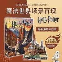 哈利波特立体书 英文原版 Harry Potter: A Pop-Up Book 进口童书绘本 3D益智活动书 魔法世