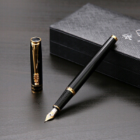 龙的传人硬笔书法弯头美工笔 成人大气签字手绘速写高档钢笔