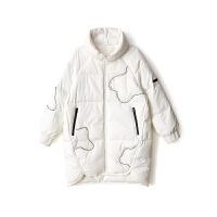 2018秋冬季新款韩版羽绒服女中长款修身显瘦白鸭绒外套