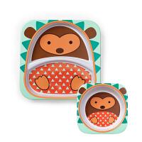 【碗盘】美国直邮 Skip hop 儿童餐具动物园系列 卡通宝宝餐碗宝宝餐盘套装 海外购