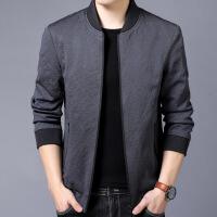 verhouse 中年男士夹克秋季新款时尚潮流立领休闲外套上衣