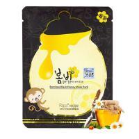 韩国papa recipe春雨卢卡黑面膜 蜂蜜黑炭面膜补水提亮肤色 10片/盒 新版