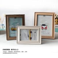 欧式木质相框6寸7寸8寸10照片相架画框创意照片挂墙摆台生日礼品