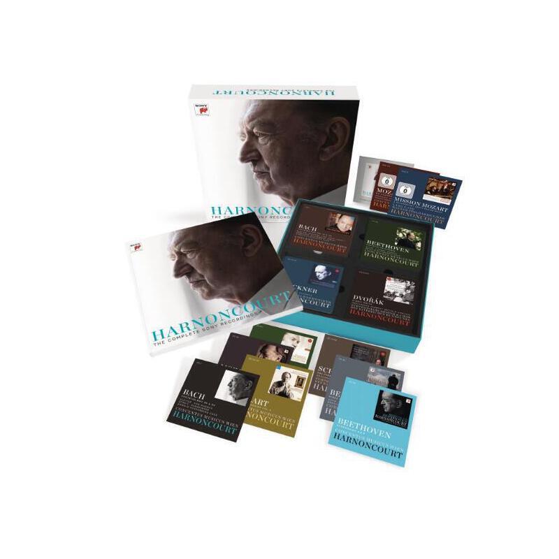 现货 [中图音像]哈农库特 索尼录音全集 61CD+3DVD+1CD-ROM [中图音像]哈农库特 索尼录音全集 61CD+3DVD+1CD-ROM