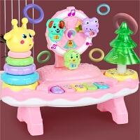 儿童宝宝乐园益智多功能组合琴儿童乐器玩具钢琴套圈圈电子琴