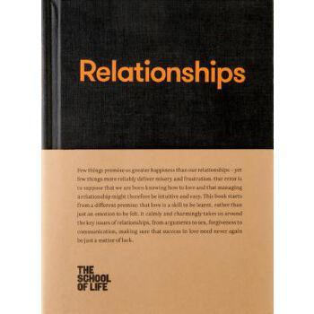 【预订】Relationships 预订商品,需要1-3个月发货,非质量问题不接受退换货。