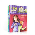 英文原版 Cam Jansen 侦探故事第31-34 【4册】儿童读物章节桥梁书5-8-12岁英语分级阅读提高儿童小说