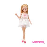 维莱 乐吉儿A040 时尚换装女孩换装 衣服过家家玩具 生日礼物 娃娃 A040-a 28CM