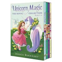 Unicorn Magic 公主与魔法独角兽 儿童章节书 前4部盒装 公主系列童话故事 儿童英语读物 儿童英文原版进口