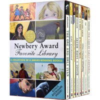 Newbery Award Favorite Library 纽伯瑞奖小说8册 伊凡 夏洛的网 汉修先生 儿童故事青少年