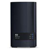 WD西数My Cloud EX2 Ultra系列云存储 0T网络硬盘NAS WDBVBZ0000NCH