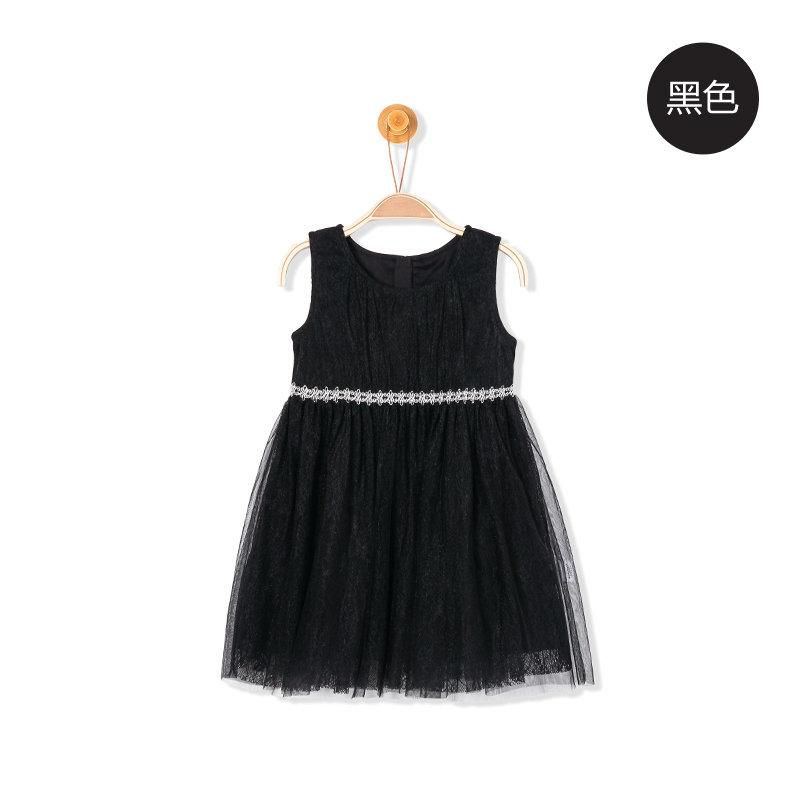 巴拉巴拉童装公主裙女童裙子 女孩2017夏季新款儿童连衣裙女