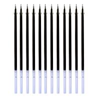 爱好 全针管笔芯 黑色0.5mm(12支/袋)替芯 水笔芯 碳素笔芯 中性笔芯 1866 当当自营