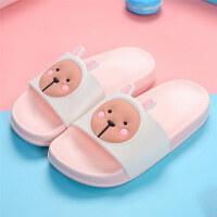 儿童拖鞋夏季男童女童可爱小公主小孩凉拖鞋宝宝室内防滑家用