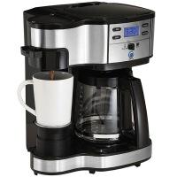 【当当自营】 汉美驰(HamiltonBeach)   12杯美式  智能双模咖啡机 49980-CN(黑色)