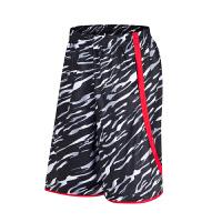 新款运动短裤男迷彩过膝休闲篮球裤跑步健身短裤宽松五分裤 可礼品卡支付