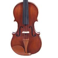凤灵FLV2115 吊花纹枣木 实木小提琴 赠小提琴教程教材书,塑料肩托,备用琴弦,四管调音器、琴,琴盒,弓,松香,琴