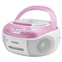 熊猫(PANDA) CD-860 手提式DVD播放机复读机CD机磁带U盘MP3录音机收录机 红色