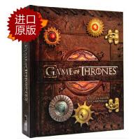 【现货】英文原版 冰与火之歌 立体书 Game of Thrones: A Pop-Up Guide to Weste