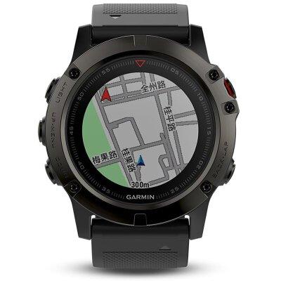 新品 佳明Garmin-Fenix5X系列 Fenix5X 中文蓝宝石DLC 多功能GPS户外手表下单后3-7个工作日发货
