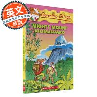 老鼠记者 英文原版 Mighty Mount Kilimanjaro#41 强大的乞力马扎罗 Geronimo Sti