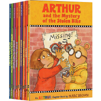 亚瑟小子英文原版 Arthur Chapter Books系列 10册 章节书