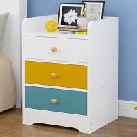 亿家达床头柜简易经济型床边收纳柜储物柜简约现代多功能卧室迷你小柜子